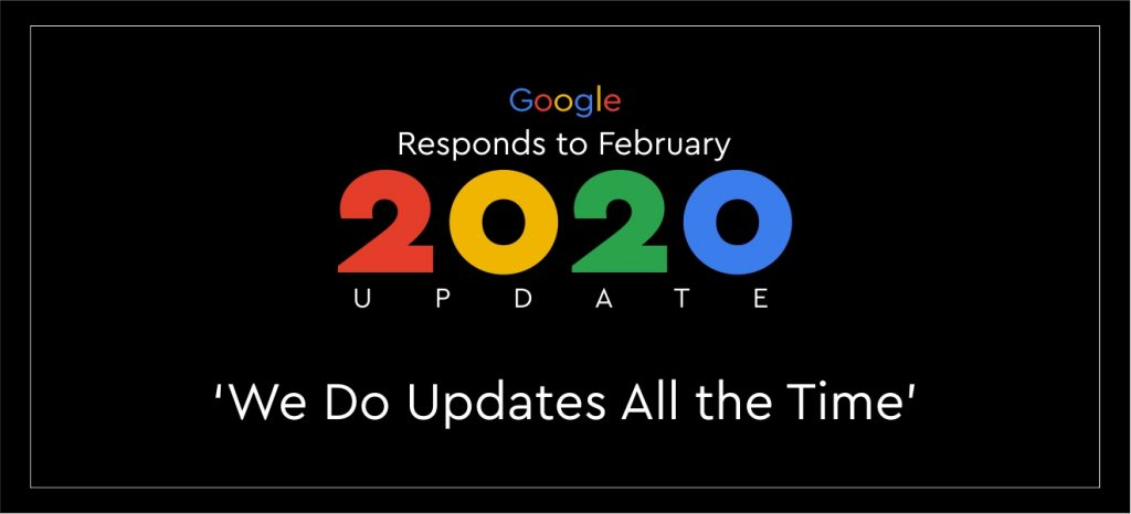 February 2020 Google Algorithm Update
