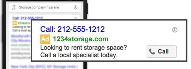 Google adds site connects to 'Call Ads'