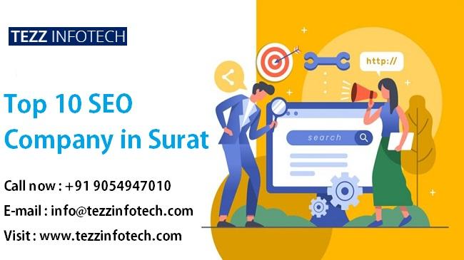 Top 10 SEO Company in Surat