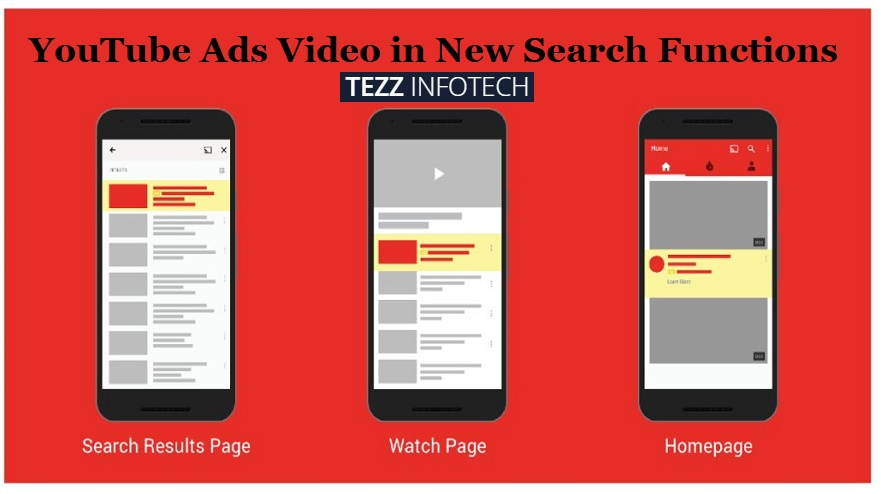 YouTube Ads Video in New Search Function